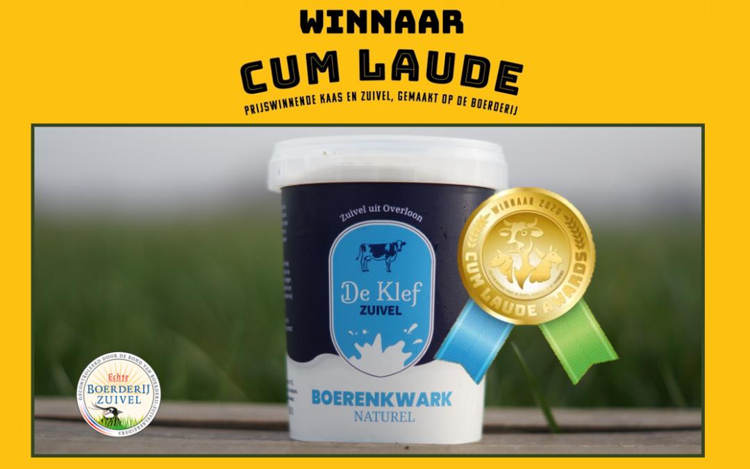 Winnaar Cum Laude Awards 2020!