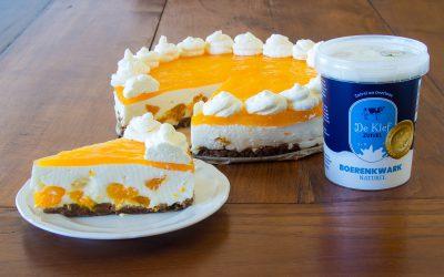 Koningstaart: Boerenkwarktaart met mandarijn